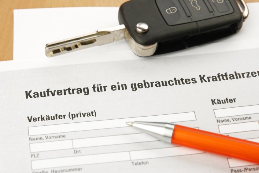 Auto jetzt verkaufen mit Kaufvertrag für ihr gebrauchtes KFZ!
